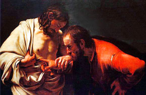 Jesus and St. Thomas